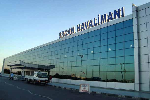 Аэропорт северного Кипра Эрджан