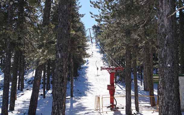 Катание на горных лыжах на Кипре