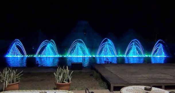Танцующие фонтаны в Кипре