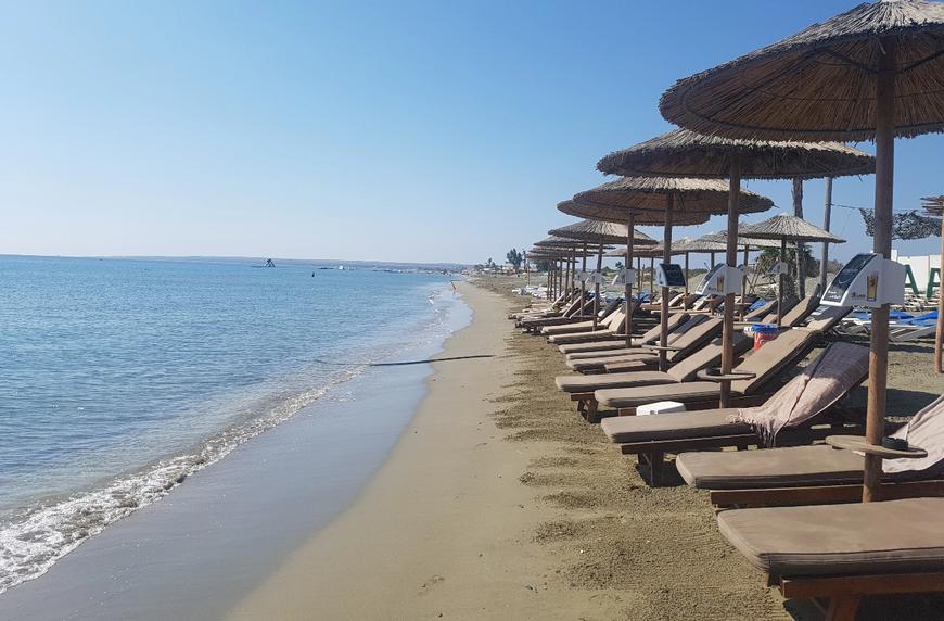 пляж дамская миля лимассол