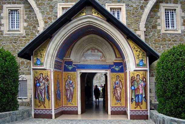 Кикский монастырь на Кипре