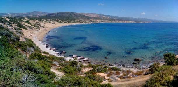 Лучшие пляжи Пафоса, Лара