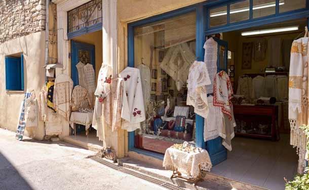 Кружевные салфетки из Кипра