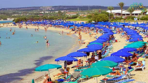 Пляж Макронисос в Айя-Напе