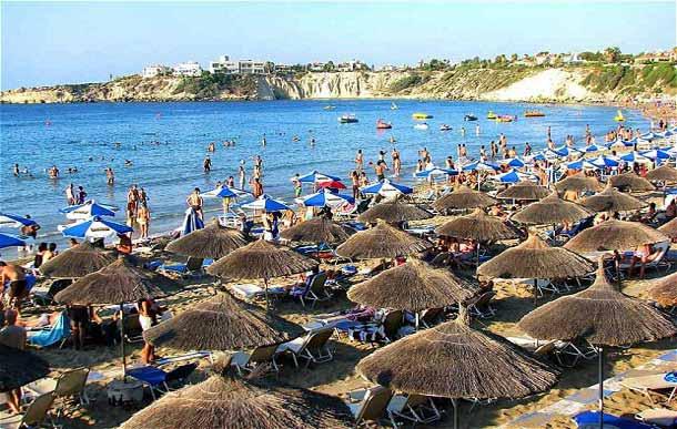Пляж Корал Бич Пафос