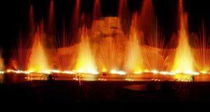 Увлекательное шоу фонтанов в Протарасе