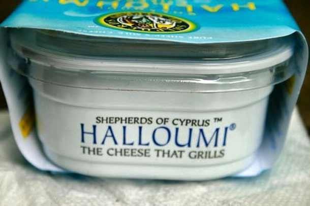Известный Кипрский сыр halloumi