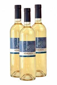 Кипрское белое вино Афродита