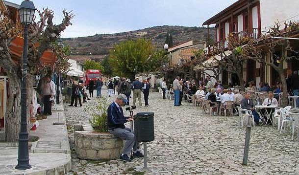 Деревня Омодос в Лимассоле