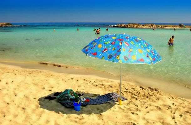 Пляжи в Айя-Напе для отдыха с детьми