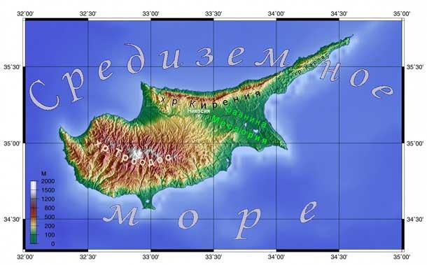 Кипр - какое там море