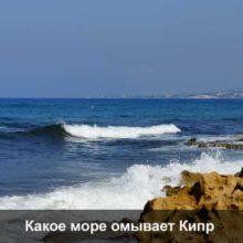 Какие моря омывают Кипр: описание