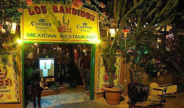 Ресторан Los Bandidos в Айя Напе