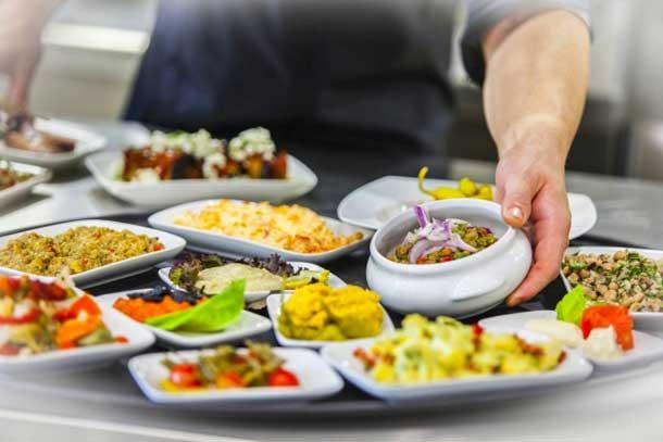 Кипрское блюдо мезе