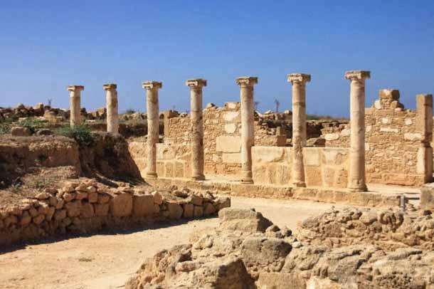 Царские гробницы Пафоса