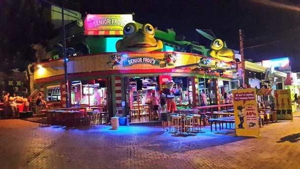 Современный клуб Crazy Frog в Айя Напе