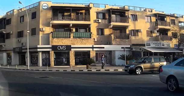 Итальянский магазин Ovs в Пафосе