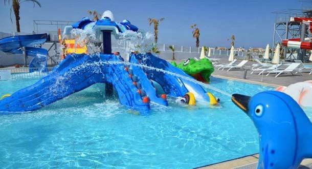 Детский аква-парк в King Evelthon Hotel 5 на Кипр