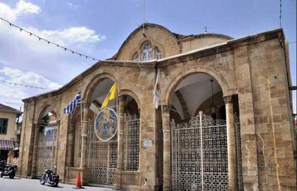 Церковь Богоматери Фанеромени в Никосии