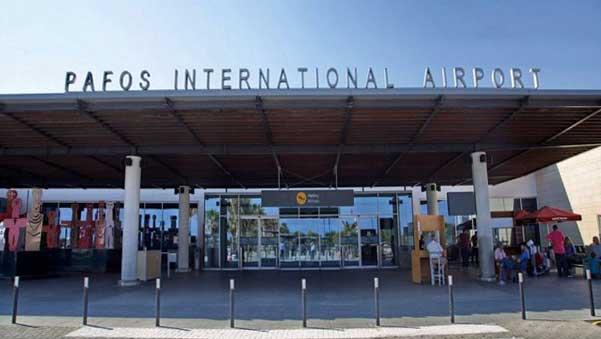 Международный аэропорт в Пафосе (Кипр)
