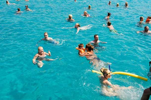 Голубая лагуна в Пафосе (Аквамас)