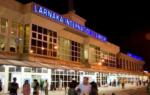 Международный аэропорт в Ларнаке (Кипр)