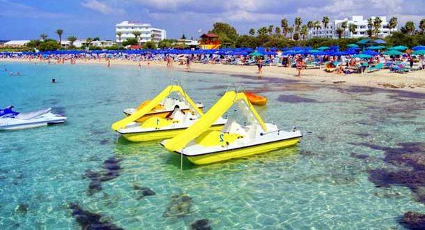 Айя Напа пляж Макронисос фото