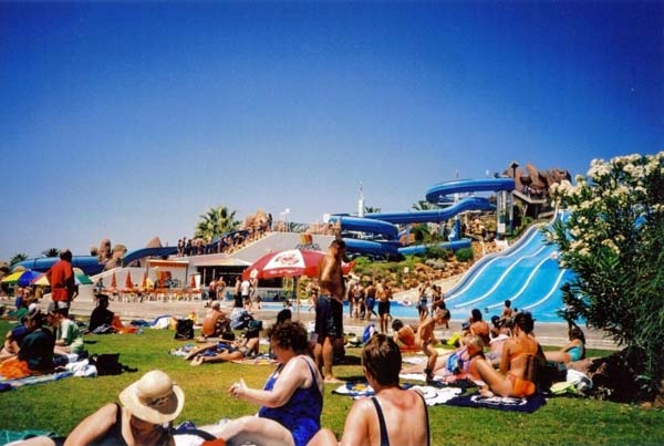 Аквапарк Лимассол на Кипре