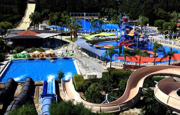 Аквапарк в Лимассоле (Кипр)