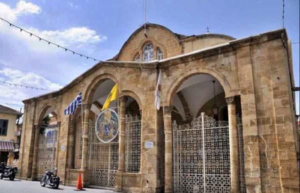 Церковь Панагия Фанеромени