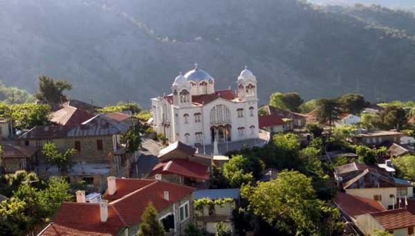 Деревня Педулас (Кипр)
