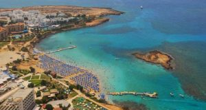 Залив Fig Tree Bay на Кипре