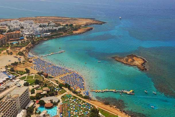 Залив Fig Tree Bay на Кипре