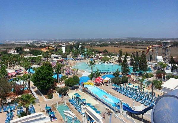 Аквапарк на Кипре в  Айя Напе