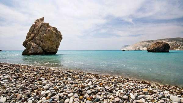 Камень Афродиты на Кипре