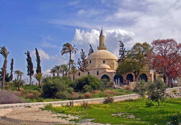 Мечеть Хала Султан Текке в Ларнаке  фото