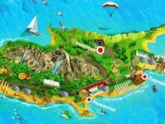 Площадь острова Кипр: размеры на карте