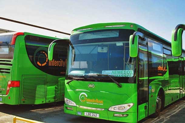 От Ларнаки до Пафоса на автобусе