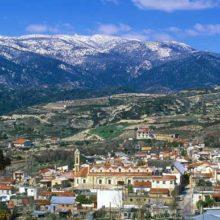 Горы Троодос на Кипре: деревни, монастыри
