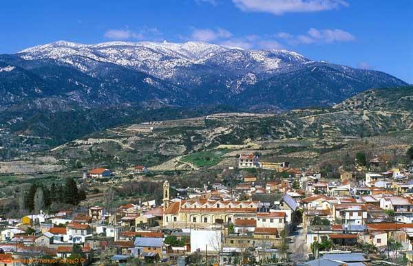 Горы Троодос (Кипр)