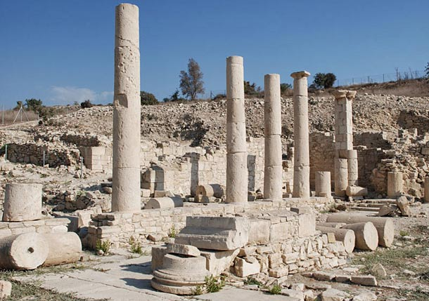 Древний город Аматус фото