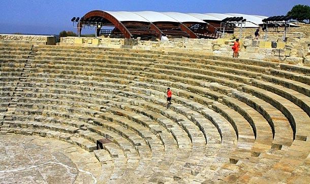 Древний город Курион в Лимассоле фото