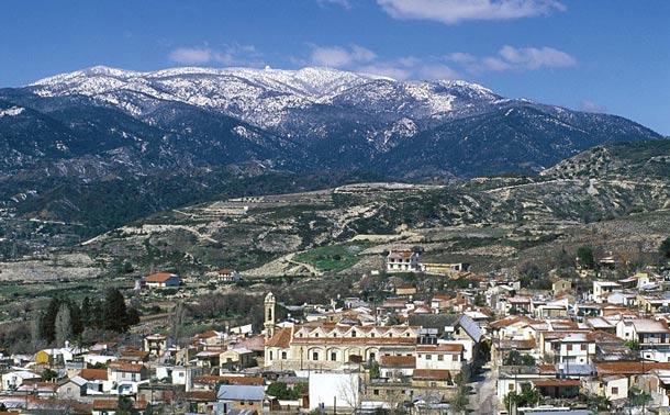 Горы Троодос на Кипре фото