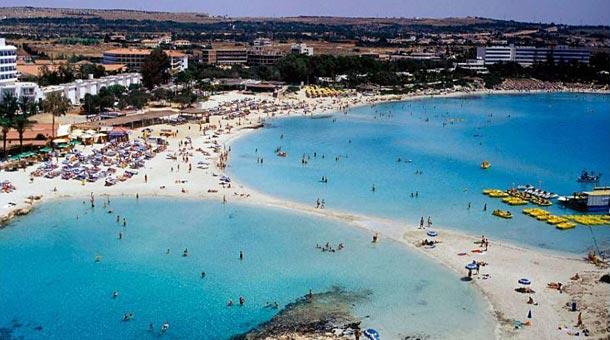 Побережье Айя Напы на Кипре