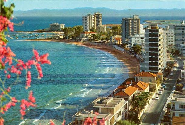 Город Вроша Кипр до 1974 года