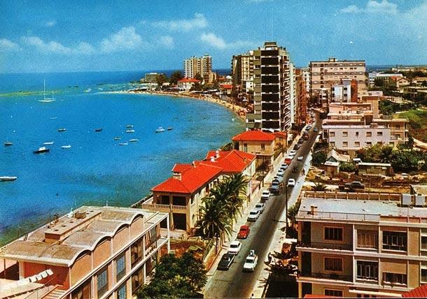 Город курорт Вароша на Кипре до 1974 года