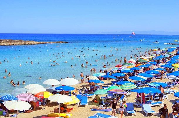 Какая погода на Кипре в августе