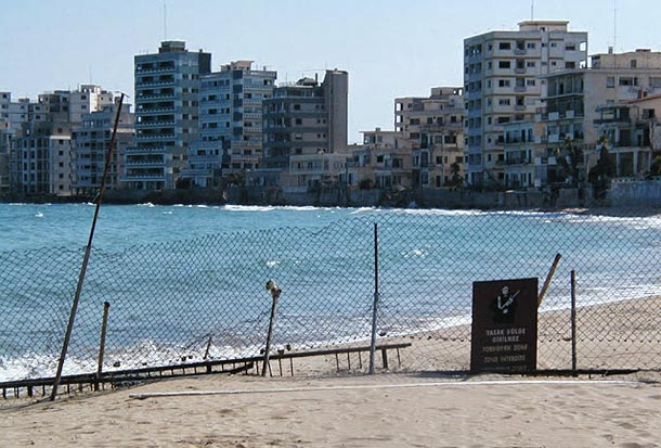 Вароша город призрак на Кипре