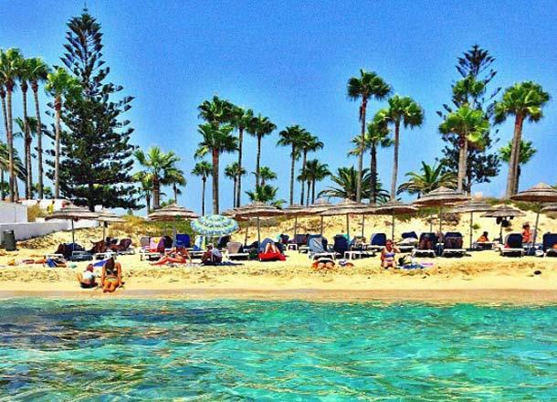 Какая погода на Кипре в Айнапе