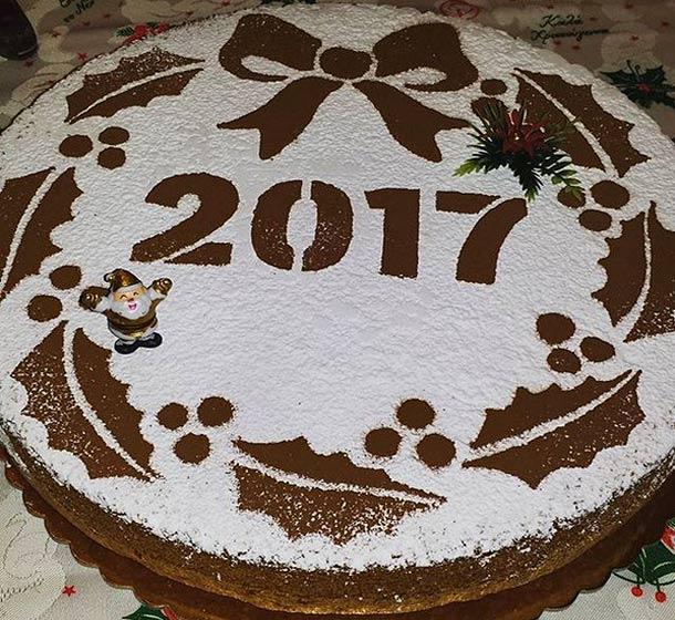 Новогодний пирог Василопита на Кипре